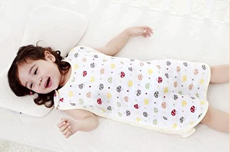 Jingdian fzw Bebé Sacos de Dormir Primavera y el Verano sección Delgada de algodón Las piernas