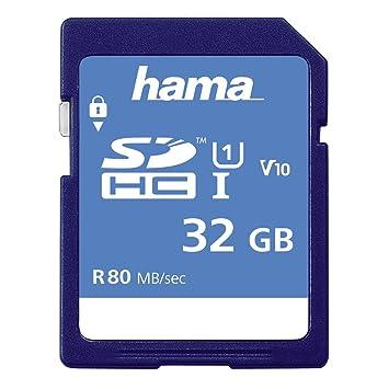 Hama SDHC 32GB 32GB SDHC UHS-I Class 10 Memoria Flash ...