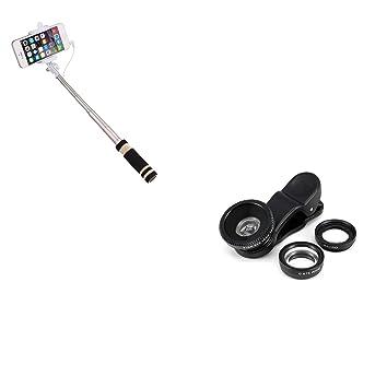 Pack de Fotos para Nokia 7.2 Smartphone (Mini Selfie Stick + Lente ...
