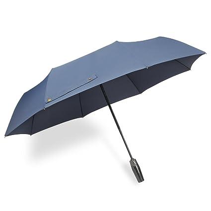 acheter en ligne f7d0e a51dd Parapluie automatique pliant anti-retournement solide imperméable etanche  buiness Srxing Hanmir pour homme et femme