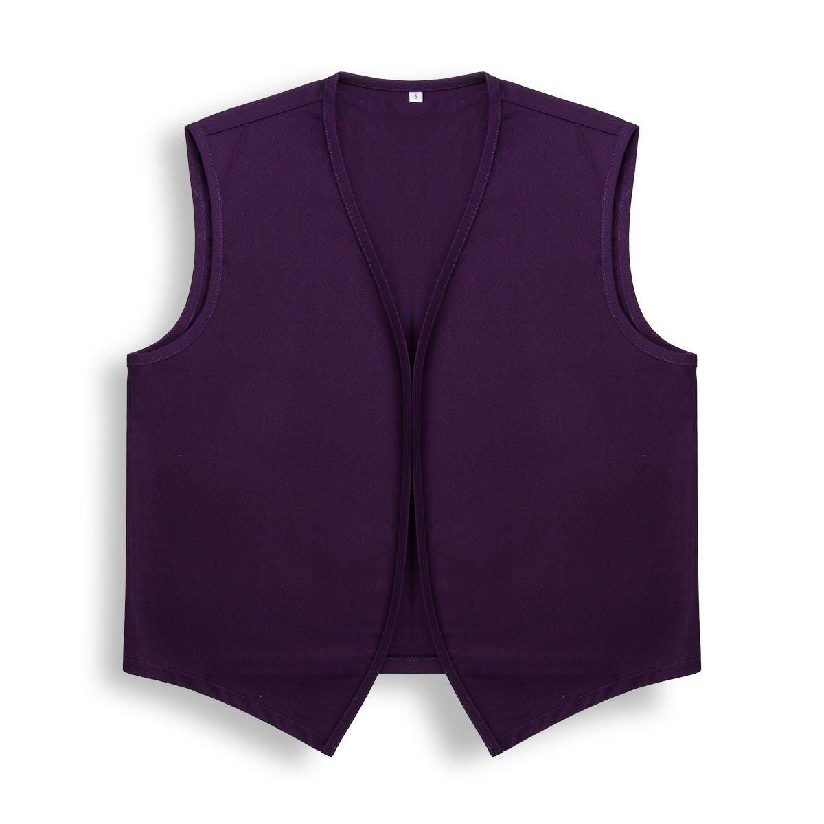Unisex No Pocket Button Uniform Vest Halloween Costume Outfit