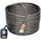 Tripp Lite USB 2.0 Hi-Speed Active Extension Repeater Cable, USB-A (M/F), 5 Meter (16 ft.) (U026-016)