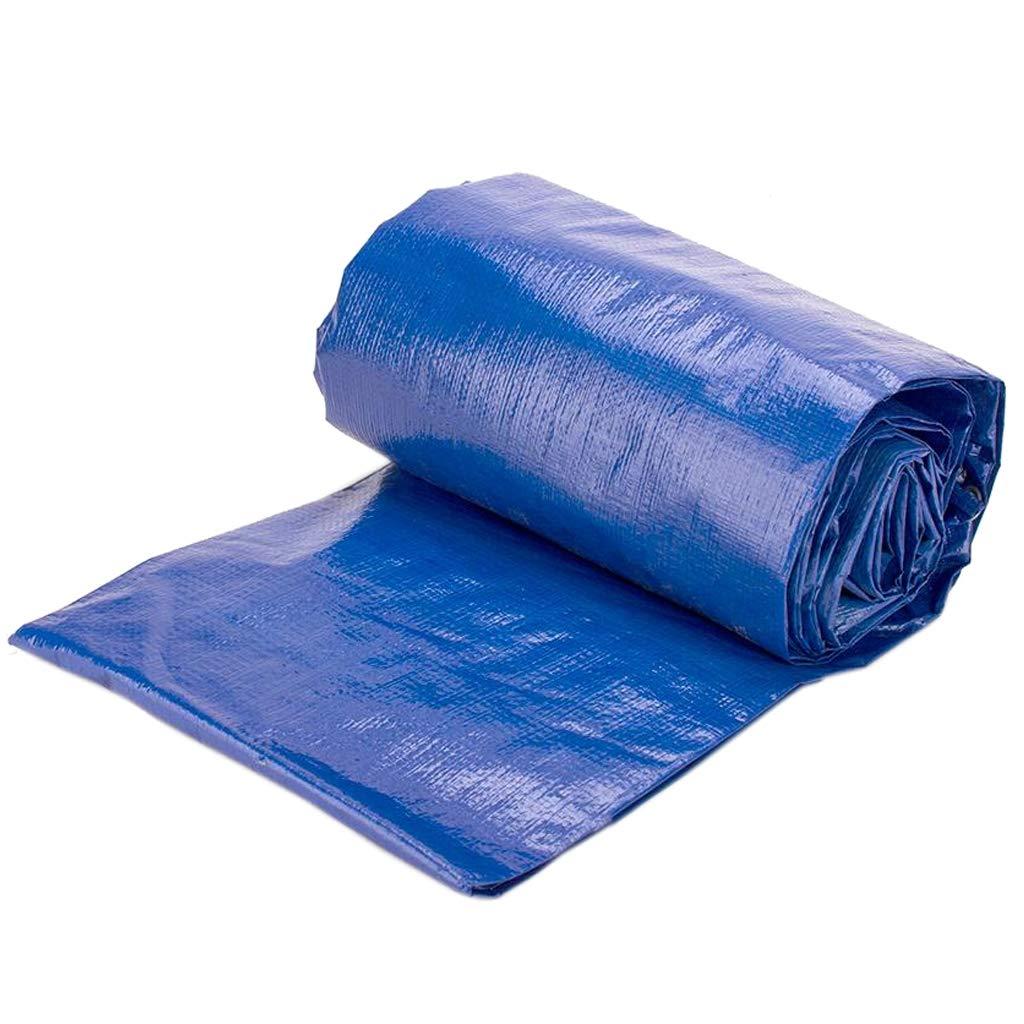 2×4m Camping Tarp Tarpaulin Awning Groundsheet Tent Footprint Hammock Ground Sheet Canopy Sun Rain Fly Shelter Shade Blanket Mat Waterproof Heavy Duty