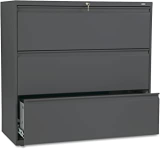 product image for HON 893LS 800 Series Three-Drawer Lateral File, 42w x 19-1/4d x 40-7/8h, Charcoal
