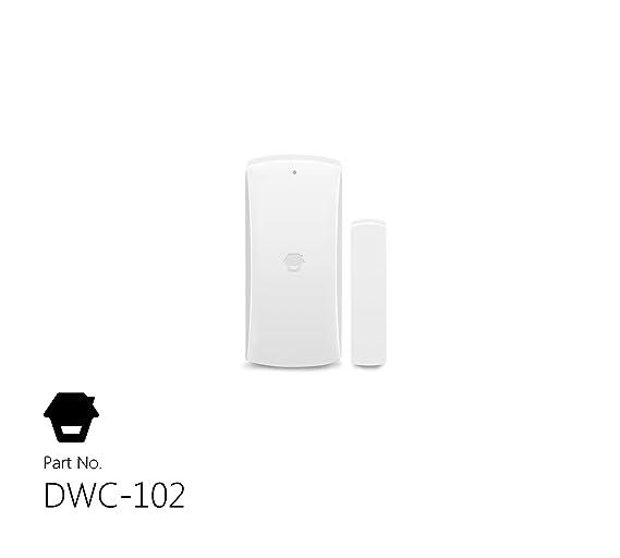 CHUANGO 1 gsm/SMS/RFID Touch Alarm System, Blanco, 1: Amazon.es: Bricolaje y herramientas