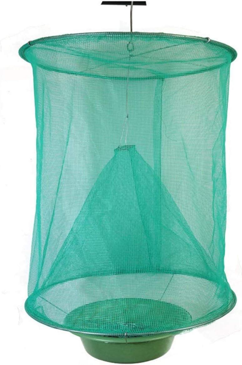 The Ranch Fly Trap Trampa para Moscas al Aire Libre Killer Bug Cage Net Caballos Seguridad y protección del Medio Ambiente Verde Jasnyfall
