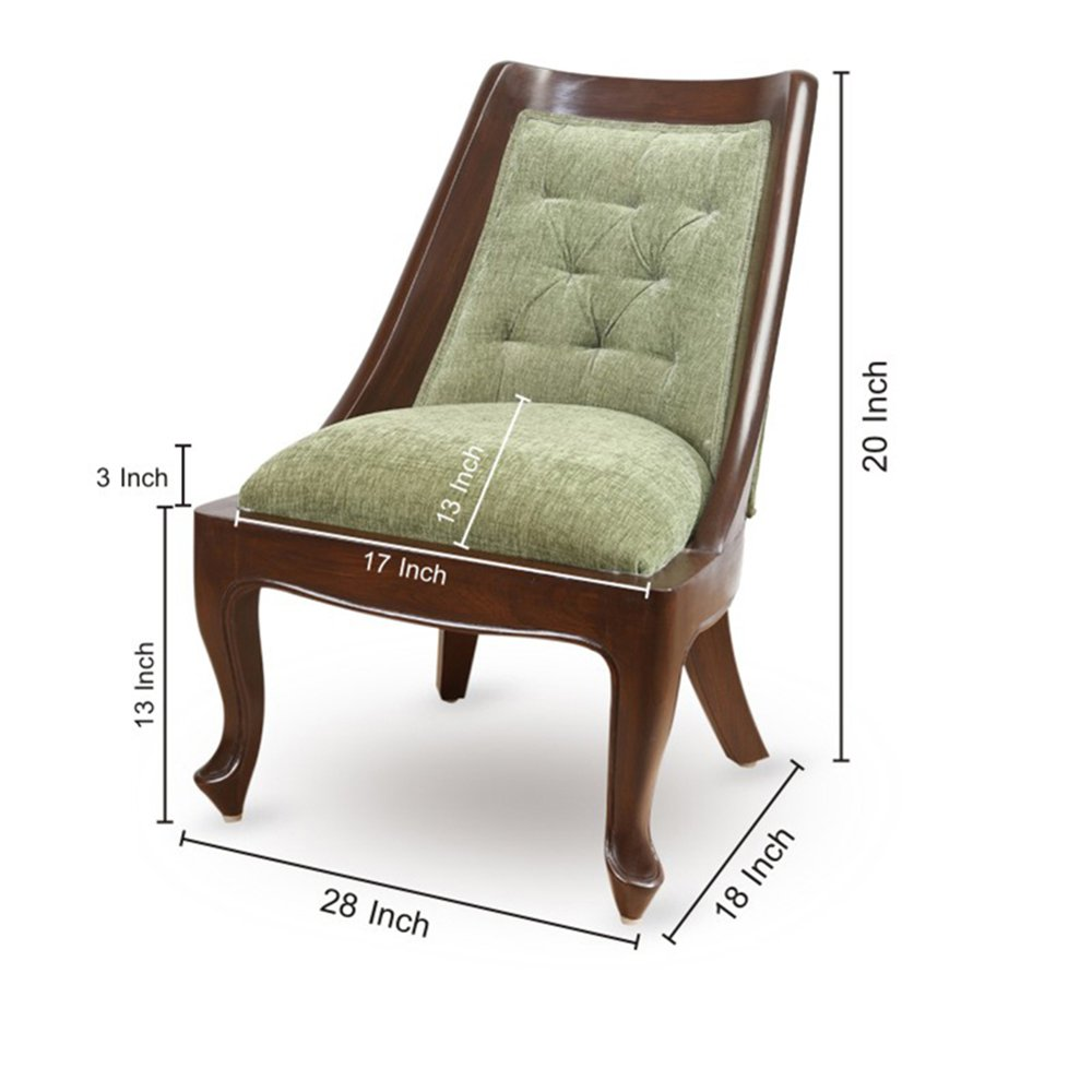 ExclusiveLane Teak Wood Living Cum Bedroom Chair -Wooden Chair