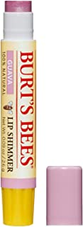 product image for Burt's Bees 100% Natural Moisturizing Lip Shimmer, Guava, 1 Tube