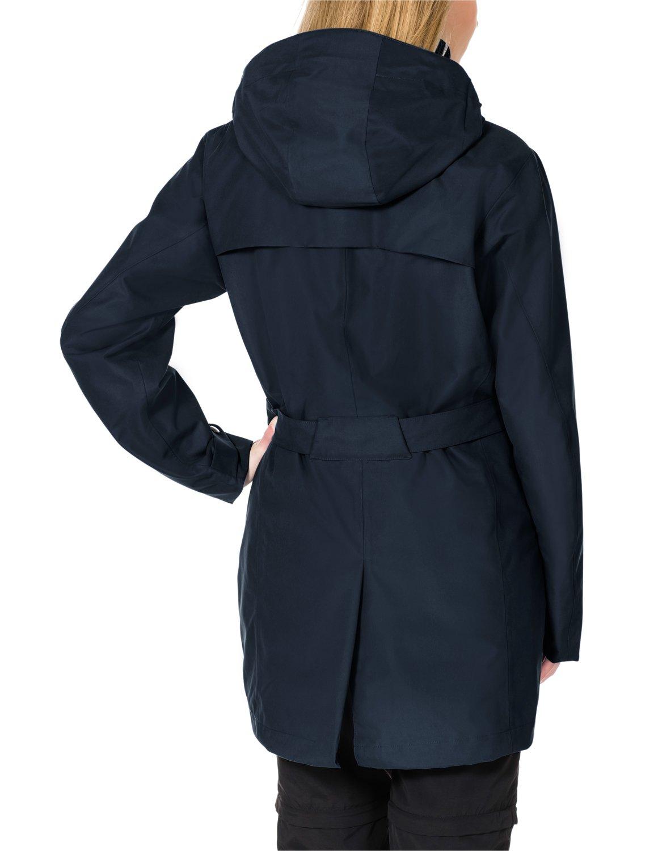 Jack Wolfskin Mujer meteorológica Chaqueta de protección muconda Coat W: Amazon.es: Deportes y aire libre