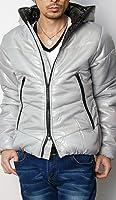 (アーケード) ARCADE 12color メンズ 中綿ジャケット 軽量 ダウンジャケット フルジップ パーカー 中綿 ブルゾン 撥水加工
