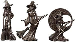 Home Decor Retro Creative Modern Minimalist Home Accessories Personality Witch Craft Ornaments Statue Ornaments Home Decoration Gifts 3 Pcs