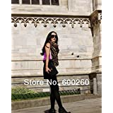 Sciotex£¨TM£ New Style Fashion Hot Leopard Scarf Women Warm animal print Leopard favorite super star shawl