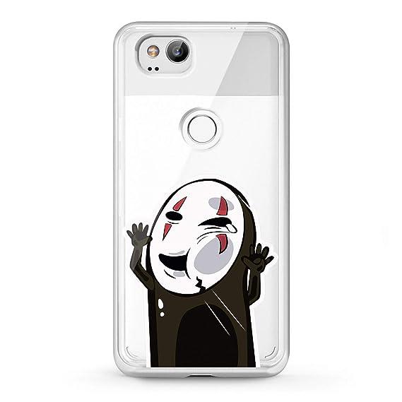 best value d6870 269bf Lex Altern TPU Case Google Pixel 2 3 XL 2016 No Face Pattern Cute Anime  Ghibli Phone Cover Silicone Black Print Kawaii Mask Protective Japanese Boy  ...