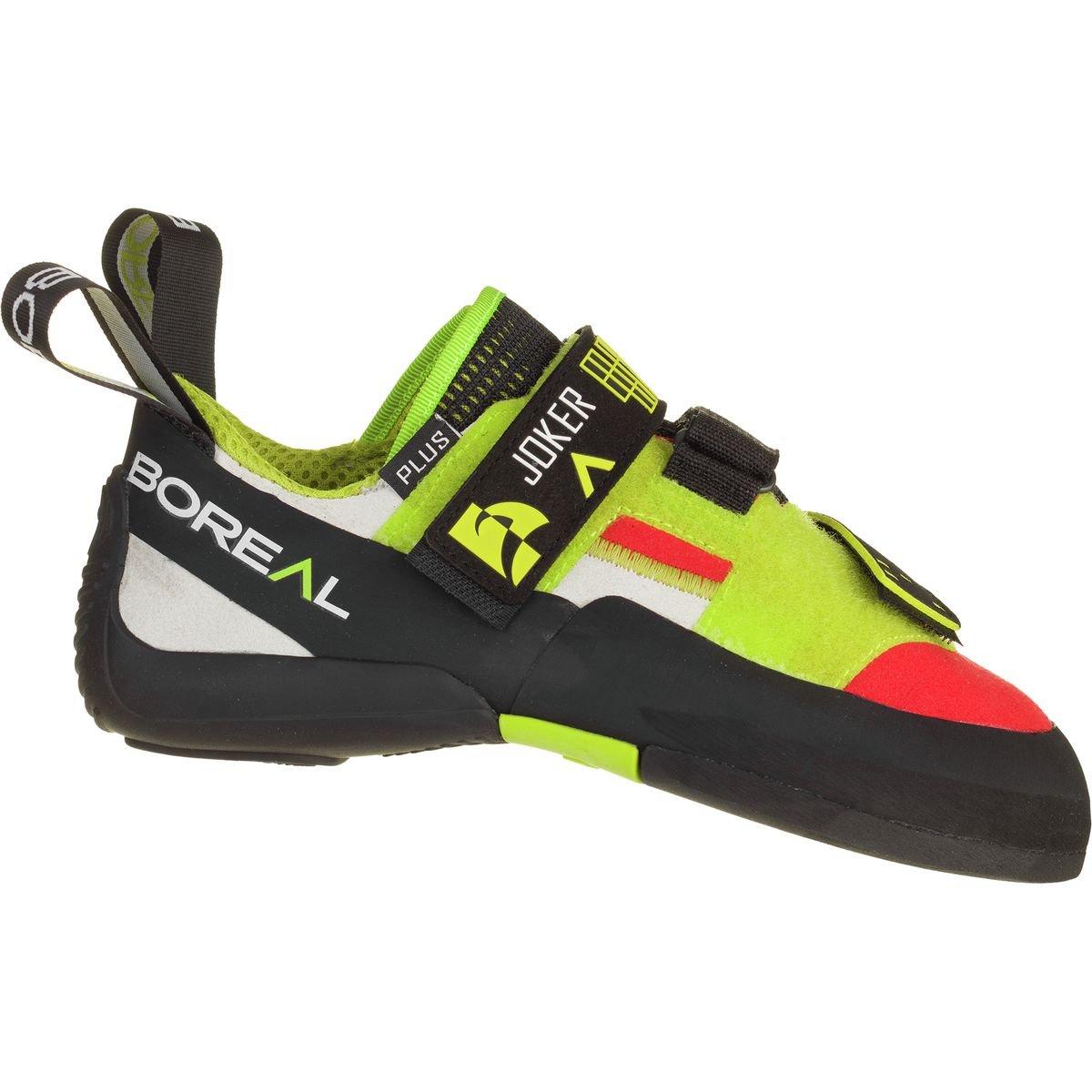 Boreal Climbing Shoes Womens Joker Plus 5 Black Orange Yellow 11386 by Boreal