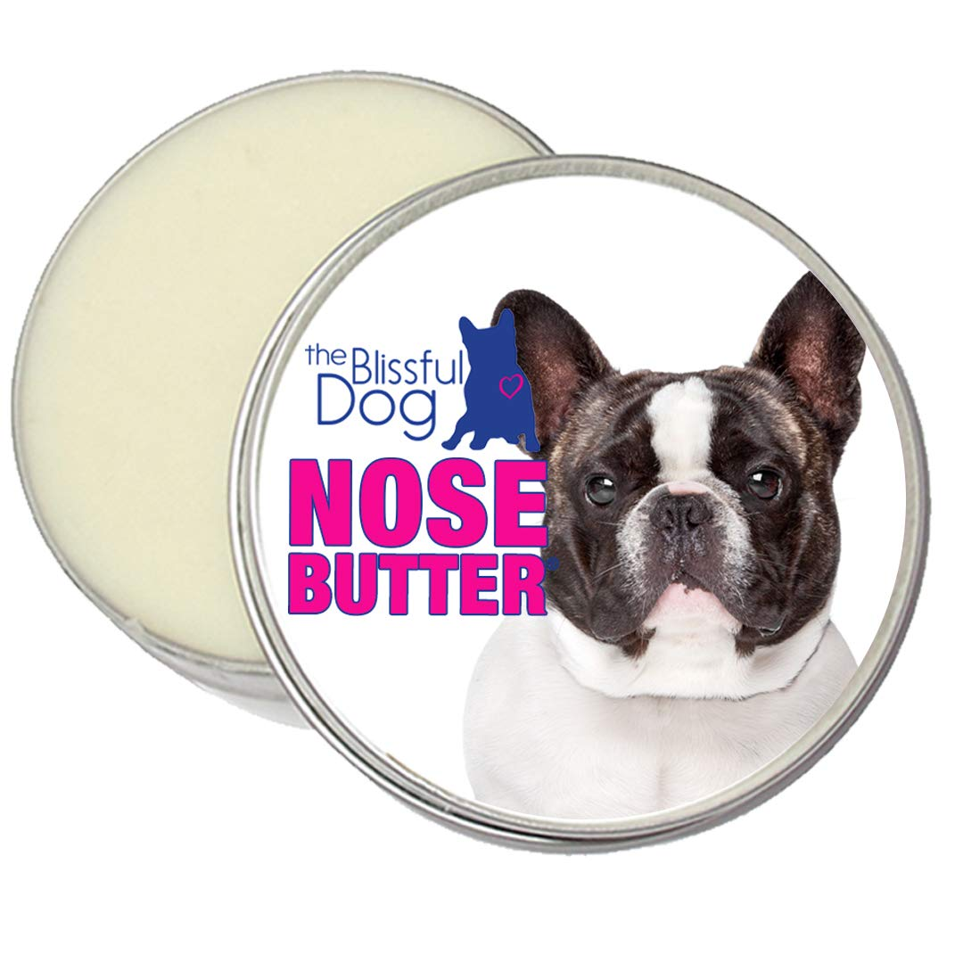 1-Ounce The Blissful Dog Pied French Bulldog Nose Butter, 1-Ounce