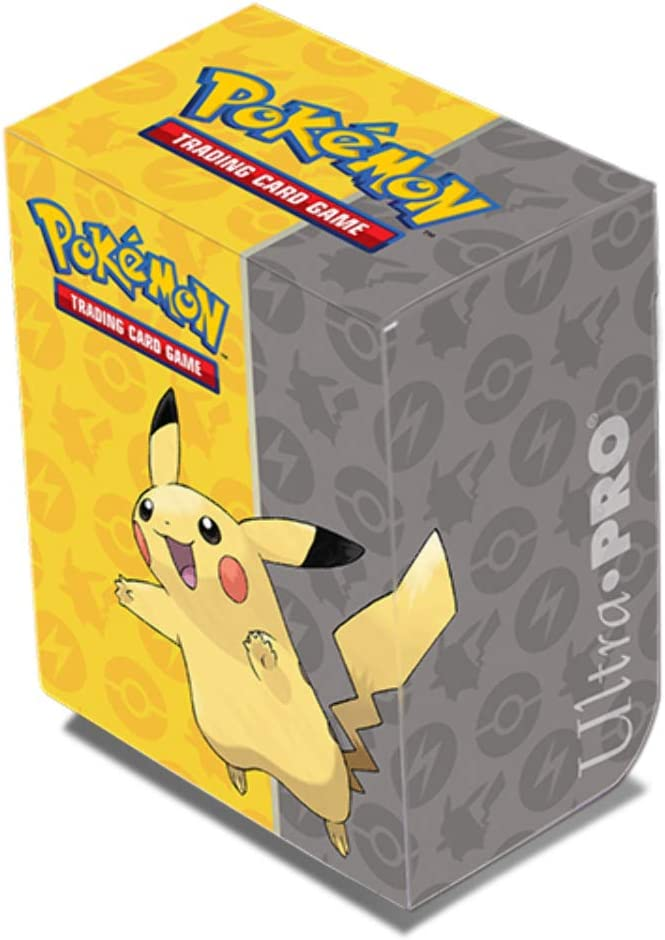 Ultra Pro Deck Box Pokemon Pikachu 2019 #15102 Deckbox