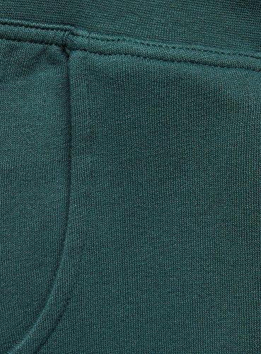 oodji Ultra Mujer Pantalones de Punto Deportivos Verde (6E00N)