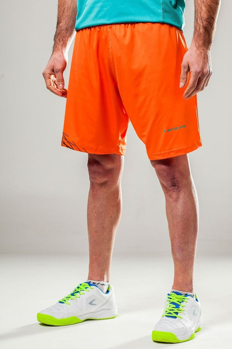 Short Padel StarVie Orange Grid: Amazon.es: Deportes y aire libre