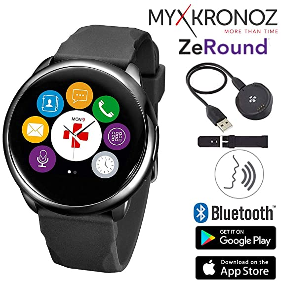 Amazon.com: ZeRound Touchscreen Waterproof Voice-Activated ...