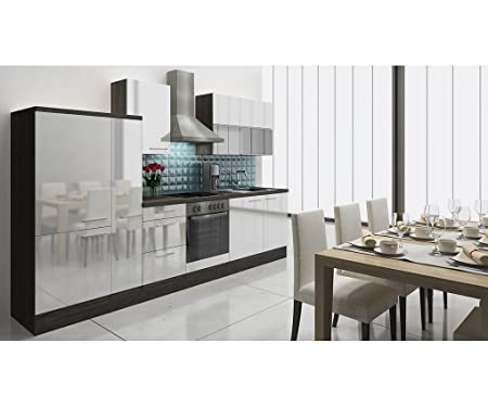 respekta Premium - Bloque de Cocina Cocina Americana 310 cm Oak ...