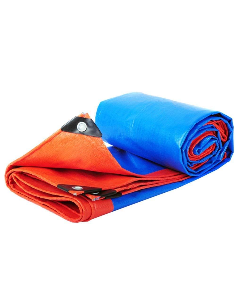 Fonly Blaues Rotes regendichtes Wasserdichtes Schatten-Plane-Segeltuch-Zelt-kampierende Tarp-Überdachung