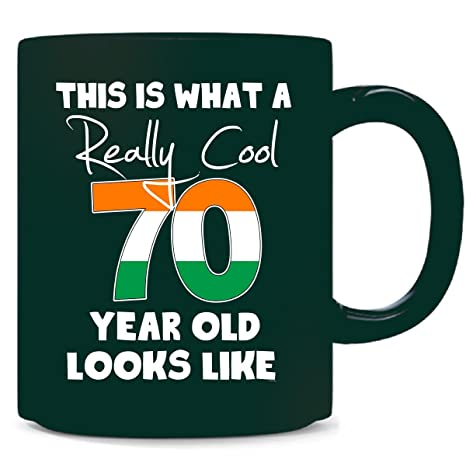 Irish 70th Birthday Gift Ideas For Men Or Woman