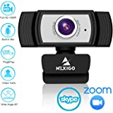 1080P Webcam for Streaming, 2020 NexiGo Web Camera with Microphone, for Zoom Meeting YouTube Skype FaceTime Hangouts OBS Xbox XSplit, Compatible with Mac OS Windows Laptop Desktop Computers Monitors