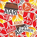 Popfunk Atari Classic Video Game Collectible Logo Stickers Other