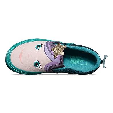 0e2cdcf55f Vans Asher Slip On (Mermaid) Blossom Girls Kids (2.5 US Kid)