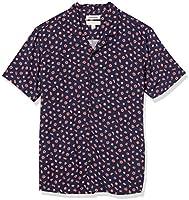 Amazon Brand - Goodthreads Men's Standard-Fit Short-Sleeve Camp Collar Hawaiian Shirt