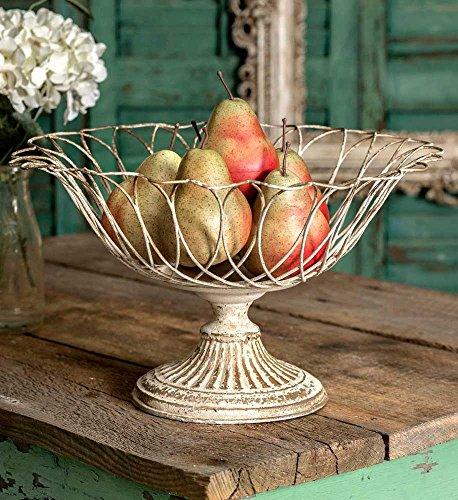 (Wire Pedestal Basket)