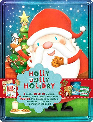Holly Jolly Holiday Collector's Tin (Happy Tin)
