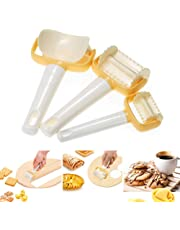 Baking Tool,3Pcs/Set Rolling Cookie Cutters Biscuit Crimped Pastry Dumpling Mold Maker for DIY Baking Tool