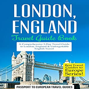 London, England - Travel Guide Book Audiobook