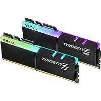 G.Skill Trident Z RGB 16GB DDR4 16GB DDR4 3600MHz módulo de - Memoria (16 GB, 2 x 8 GB, DDR4, 3600 MHz, 288-pin DIMM, Negro)