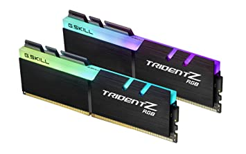 G.SKILL TridentZ RGB Series 16GB (2 x 8GB) 288-Pin DDR4 3000MHz (PC4 24000) Desktop Memory Model F4-3000C16D-16GTZR Memory at amazon