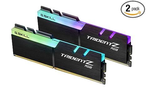 G Skill TridentZ RGB Series 16GB (2 x 8GB) 288-Pin 3600MHz (PC4 28800)  Desktop Memory Model F4-3600C17D-16GTZR