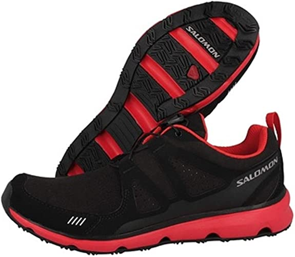 SALOMON S-Wind Inca Zapatilla de Trail Running Señora, Negro/Rojo, 38: Amazon.es: Zapatos y complementos