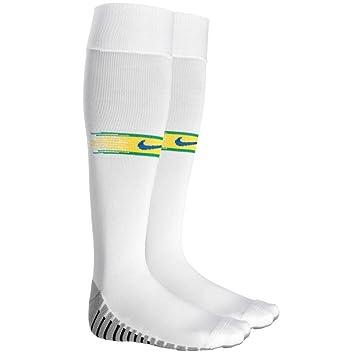 df6cefa24ffd0 Nike 2018-2019 Brazil Home Socks (White)