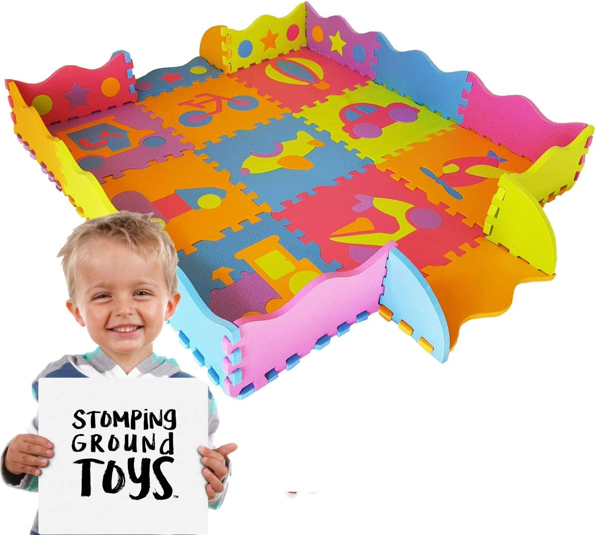 Tappeto gioco per bambini