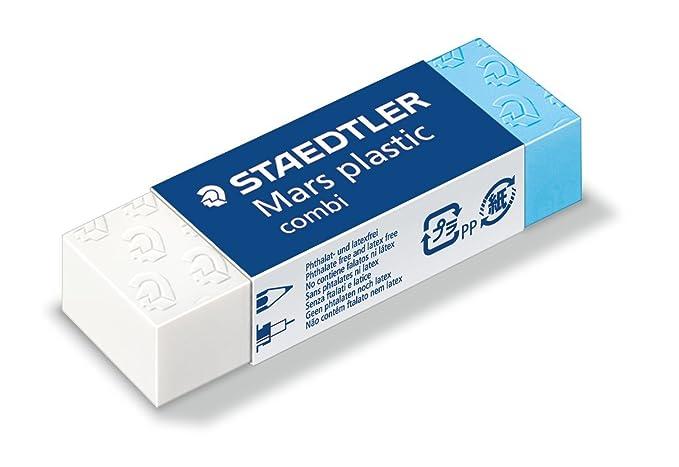 150 opinioni per Staedtler Mars plastic combi 526 508 Gomma, 65 x 23 x 13 mm, Confezione da 20