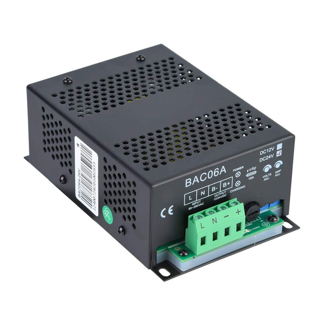 Cargador autom/ático de bater/ía de plomo-/ácido accesorio de generador diesel generador de carga flotante inteligente de 12V
