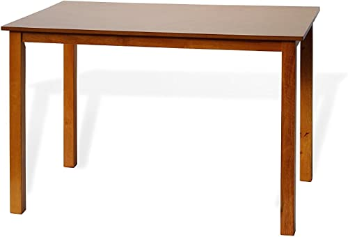Dining Kitchen Rectangular Classic Table Solid Wooden