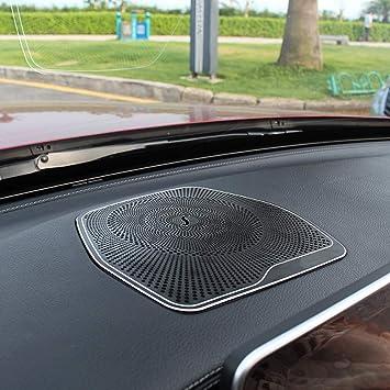 Armaturenbrett Lautsprecherabdeckung Auto Armaturenbrett Audio Lautsprecher Lautsprecherabdeckung Aufkleberleiste Für C Klasse W205 C180 Auto