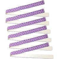 Juego de tiras de hornear, 6 paquetes superabsorbentes de algodón grueso para tartas, mantiene los pasteles más niveles…