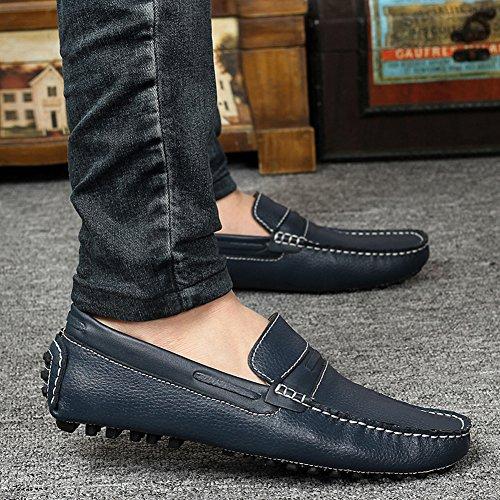 Icegrey Herren Gehen Lässige Schuhe Halbschuhe Tiefes Blau 41