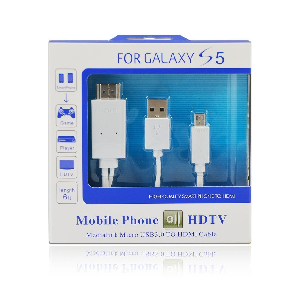 Buy Cablesetc All In 1 Mhl Micro Usb To Hdmi Cable Tv Out Wire Diagram Adaptor For Samsung Galaxy S3 I9300 Online At Low Prices India Reviews