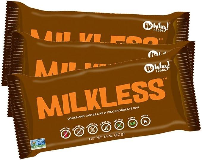 Premium Chocolatiers barras de chocolate sin leche veganos (3 pack): Amazon.es: Alimentación y bebidas