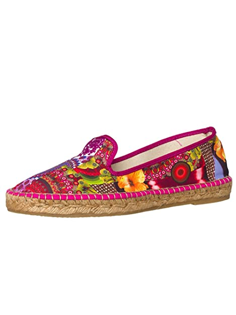 DESIGUAL® Mujer Diseñador Espadrilles Alpargatas Zapatillas - Maira Colección -41: Amazon.es: Zapatos y complementos