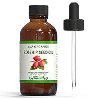 SVA Organics Rosehip Oil Cold Pressed 4 Oz 100% Pure Natural Premium Therapeutic...